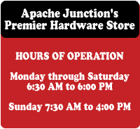 Apache Junction, Gold Canyon Hardware Store